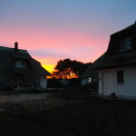 Sonnenaufgang am 24.12.