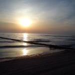 Sonnenaufgang um 5:30 Uhr