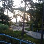 Der neue Spielplatz am Strand