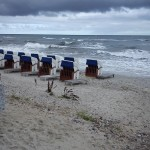 Strandkörbe in Gefahr