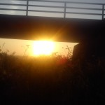 ...doch schon kommt die Sonne...