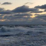 Die tosende Ostsee...