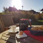 Outdoorfrühstück im November