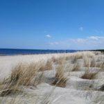 Sandstrand bis zum Horizont