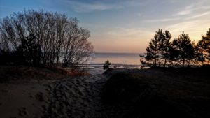 Strandaufgang in Zempin