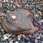 Schöne Steine anschauen