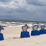 Strandkörbe in Reih und Glied....
