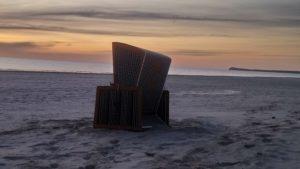 Morgendliches Strandidyll