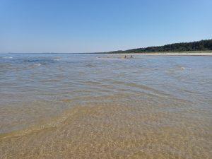 ...und Kleckerburgen mitten aus dem Meer wachsen....